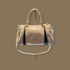 BADGLEY MISCHKA Leather Large Satchel Handbag